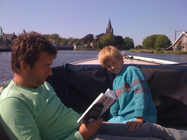 Cruising along the Amstel river