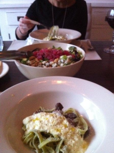 Gang nr 3 heerlijke pasta idee opgedaan in Chicago #chef #heerlijk #lovelife
