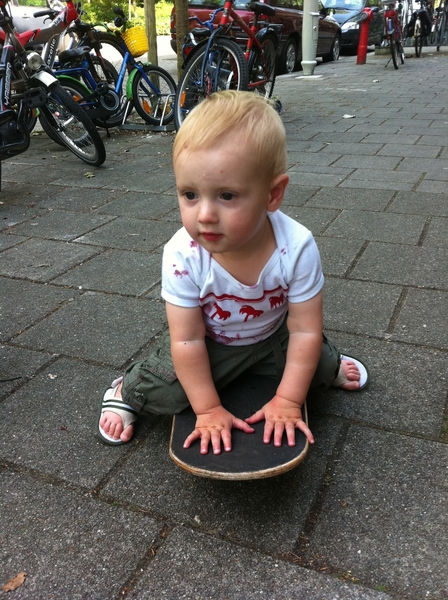 Fletcher of the day: skateboard.