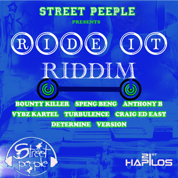 RIDE IT RIDDIM - #ITUNES 7/30/13 BOUNTY KILLER VYBZ KARTEL & MORE @Tibinz