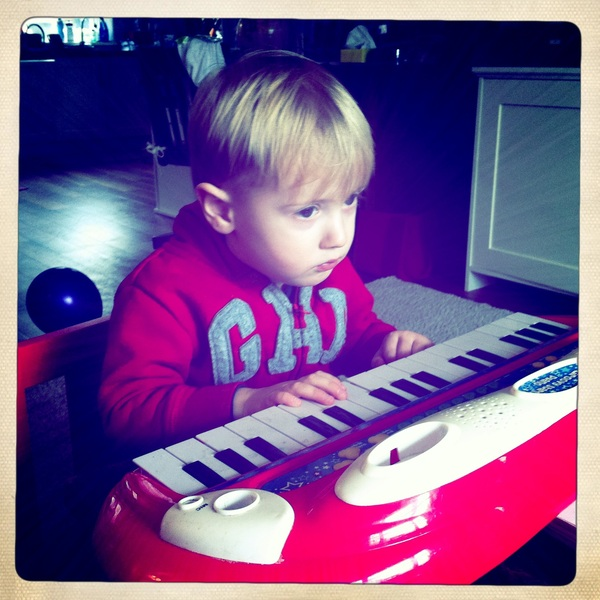 Fletcher of the day: Piano man