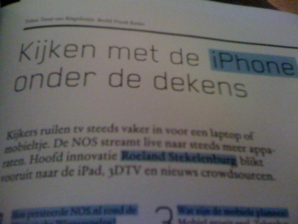 Iemand in mijn omgeving beweerde dat de macht van TV bij de distributeurs ligt. Dat is toch ouderwets?