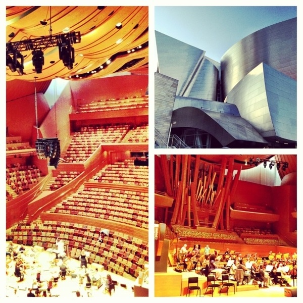Performing with the California Philharmonic Orchestra at the Disney Concert Hall July 28th . Amazing venue