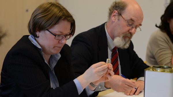 Dit jaar moest men op @rodenborch #rosmalen loten. Dat gebeurde maandagmiddag door een notaris.