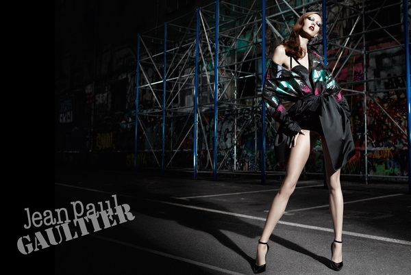 The beautiful Karlie Kloss stars in Jean Paul Gaultier' Fall Winter 2012 campaign. Photographer: Willy Vanderperre.