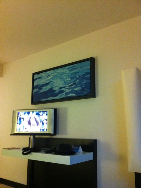 @no11roma 当日券売切れ!スタート間に合って今ホテルでテレビつけてまーす!