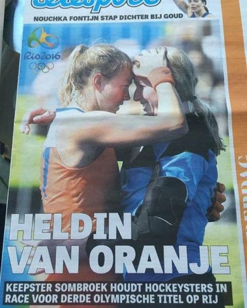 Helaas gaat deze topper ook stoppen met Oranje!! Trots op jou en je carrière!! #heldin #respect