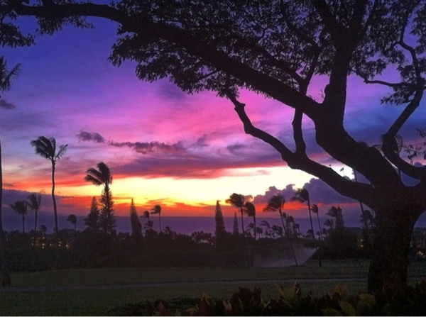 July 20th #Maui #Sunset #Kaanapali it just doesn't get much better than this...