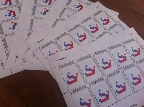 PlusOne stamps