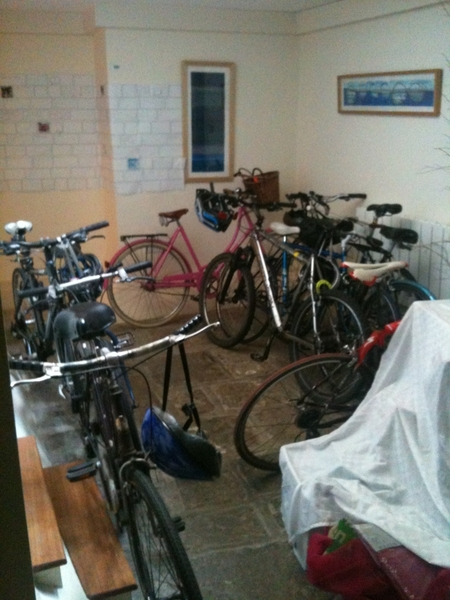 Do I work in a bike shop? No, it's Futerra's fleet of bicycles #proud