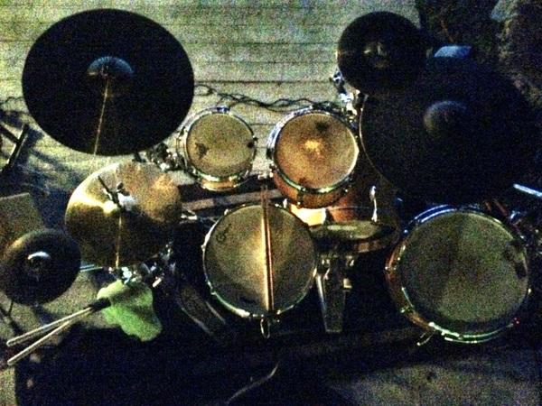 Last night's #drums on Siesta Key: