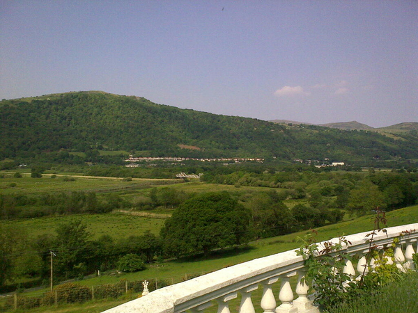 - The view from the terrace