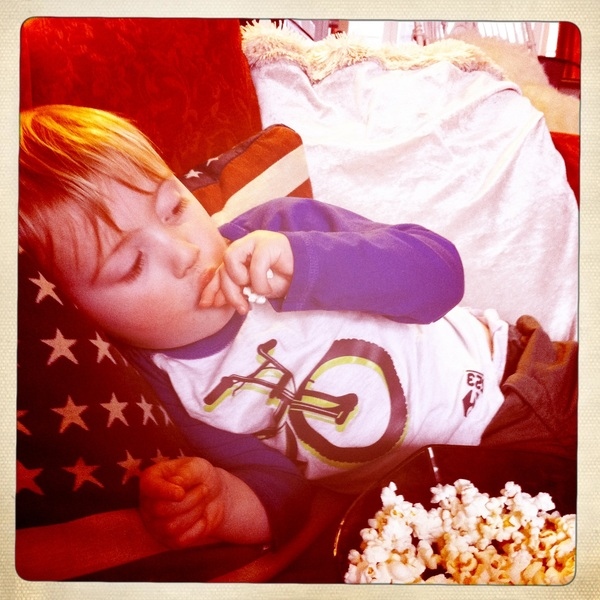 Fletcher of the day: Popcorn