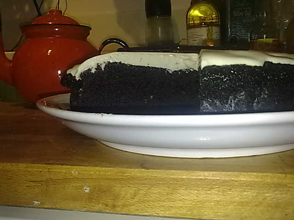 Tip for those attempting #Nigella 's chocolate Guinness cake: do NOT use low fat Philly. Doesnae whip!