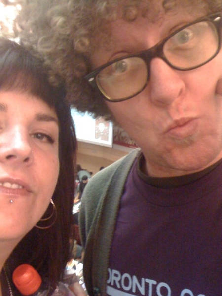 Worst #TCAF picture of me & Wes