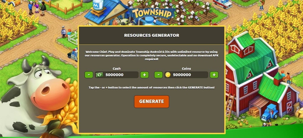 Download cheat township for android