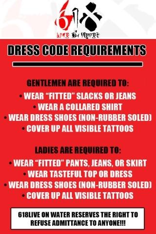 @LRGee47 618 Dress Code
