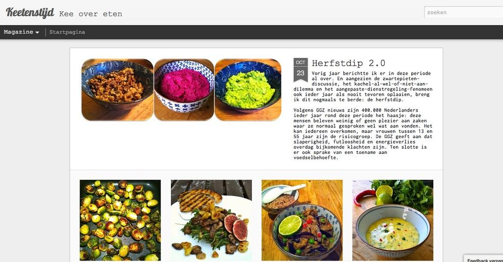artikel over eten