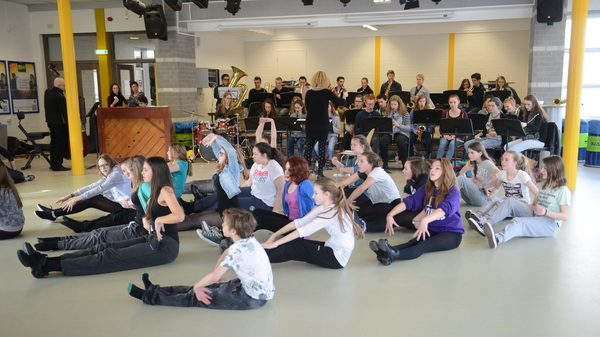 Vandaag was er op @rodenborch #rosmalen een doorloopdag voor #musical #cats