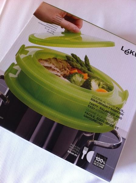 ルクエの蒸し鍋も買っちゃった!これまだ日本に出回っていないレアなルクエだと思うんだけど、どうなのう?