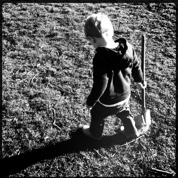 Fletcher of the day: shovel
