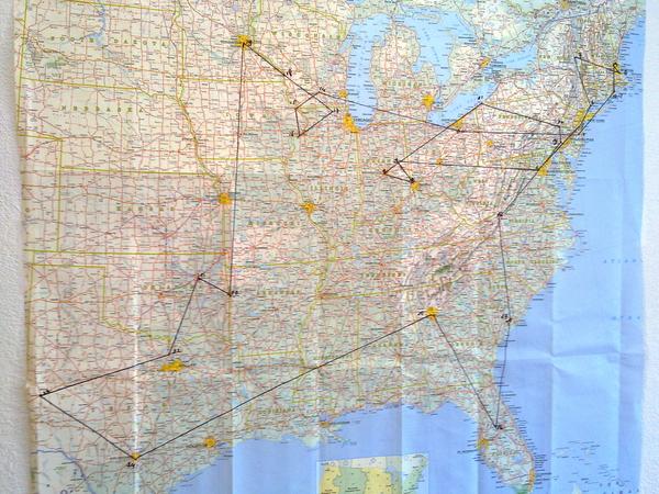We zijn er klaar voor,we weten waar Martijn vanaf 21 juni uithangt! Following the Madison Scouts om tour