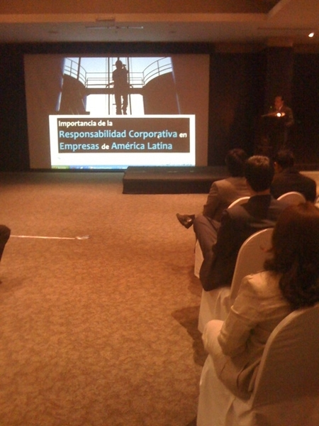 En evento de Responsabilidad Corporativa en Am Lat, organizado por La Fabril