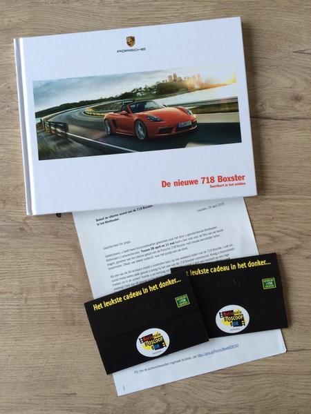 Oeh! Leuke post van @PorscheNL ! Benieuwd naar de ervaring in de bioscoop. En dat weekendje 718 winnen natuurlijk!