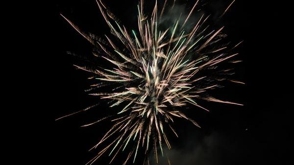 De #kermis in #rosmalen werd afgesloten met #vuurwerk