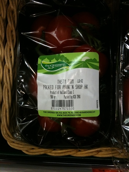 Tasty Tom Nederlandse tomaten, 4 euro voor een doosje