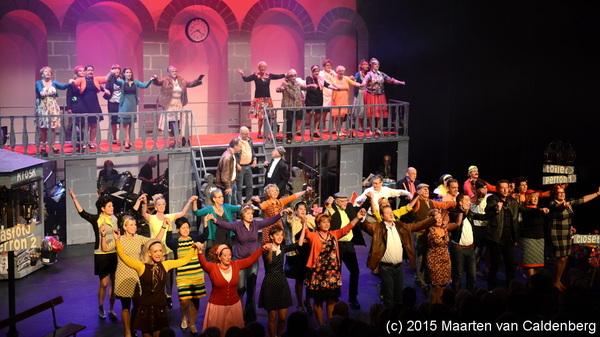In @perron3 #rosmalen is dit weekend Perron Geluk van theaterkoor Voice Sensation uit #empel
