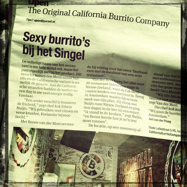 The original California burrito company. Curious to try!