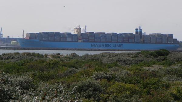 grootste container schip ter wereld #buienradar