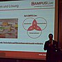 Campuslive.eu, a structured blackboard for students on mobile @ sun startup camp cologne