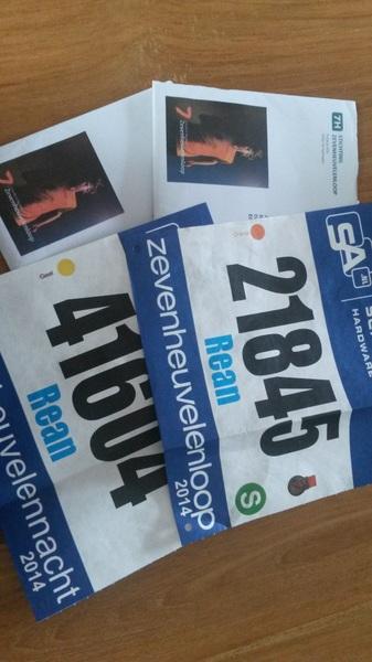 Startnummers voor de Zevenheuvelenloop zijn binnen! #7h