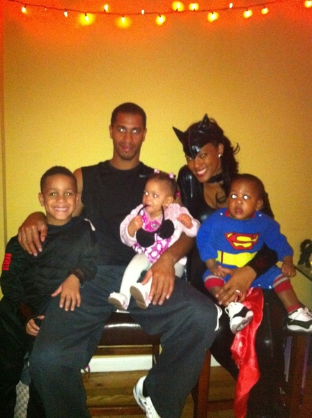Halloween party with the family..goodtimes