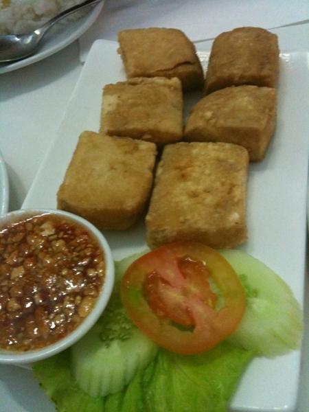 Tofu goreng