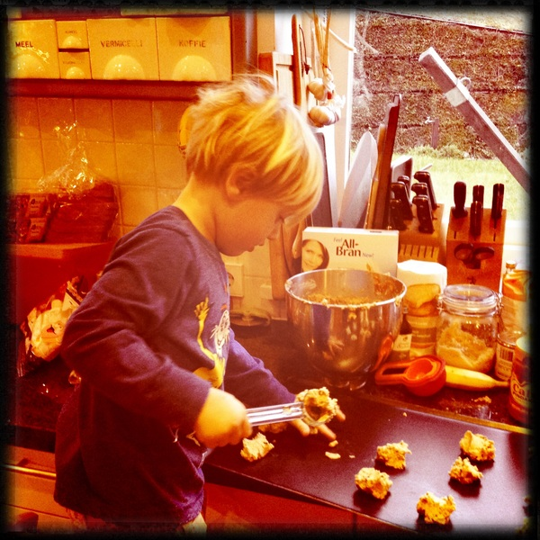Fletcher of the day: Assistant cookie baker