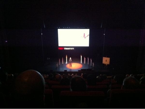 Sophie van der Stap at #TEDxMaastricht