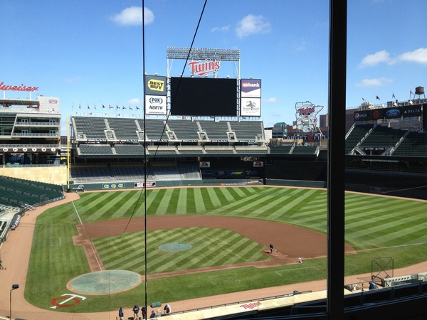 I have become a big fan of Target Field and downtown Minneapolis. The Skywalk is cool.