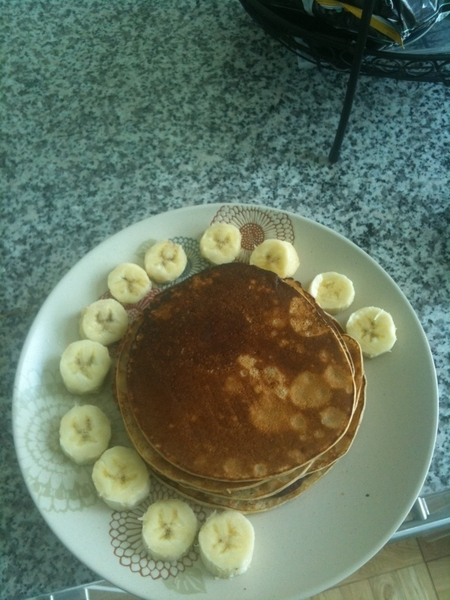 Pancakes made from scratch #ghStyle #ChefNaesie