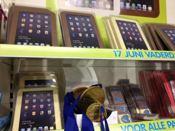 Cadeautip bij Jamin: chocolade iPad.