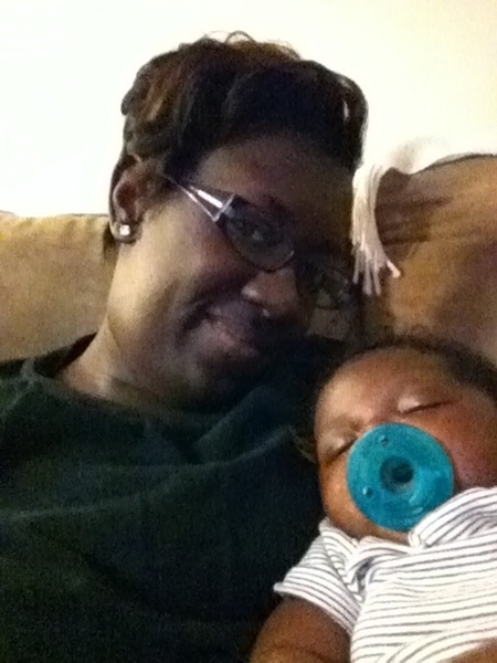 How I spent my evening with the boo...love him so much! #godmommytweet