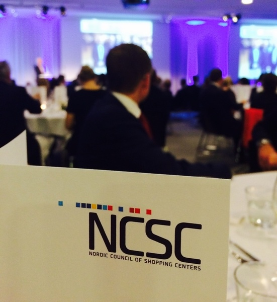 "Awards ceremony at #NCSC .@ICSCEurope underway. It's a ""best of the best"" of  #Nordics #NorthStar #NorthernLights"