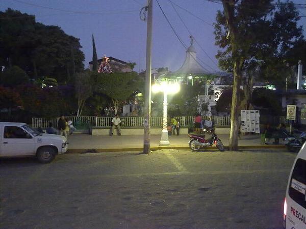 En el contro de tlapa de comonfort, Guerrero. Mx.