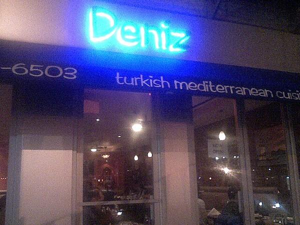 Deniz, new Turkish restaurant next to Frank's Lounge