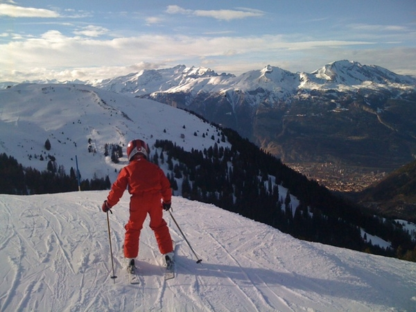 That was a great week skiing -1-
