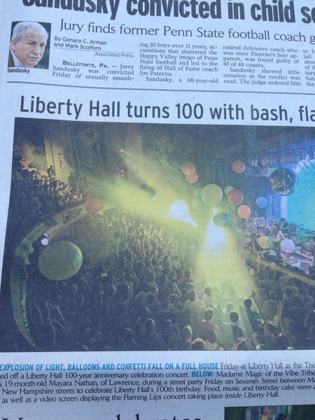 Front page of the paper!!!!