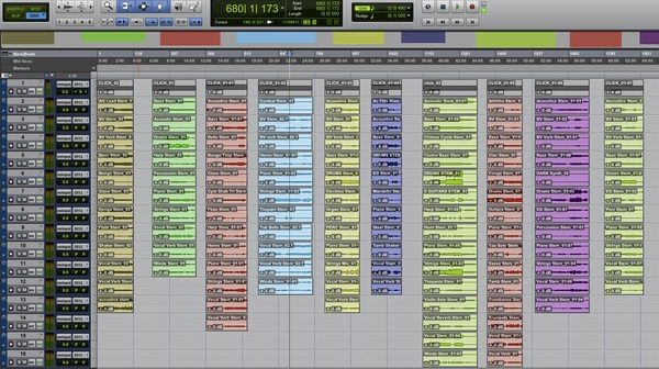 Checking Song Stems for the Project X Album  #Geek #Out #ProTools
