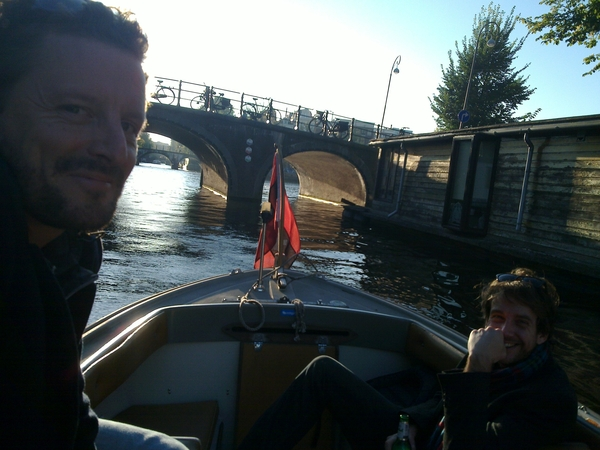 vaart uit #mobyboat